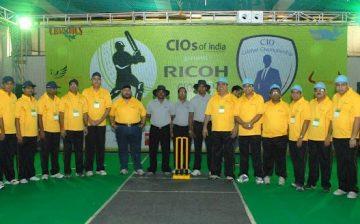 First CIO Cricket Cup by CIO's Of India