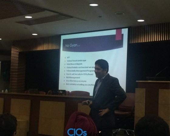 Gyan Hub on Security by Vikas Arora