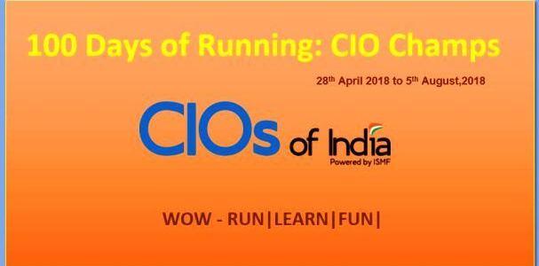 100 Days Of Running : CIO Champs